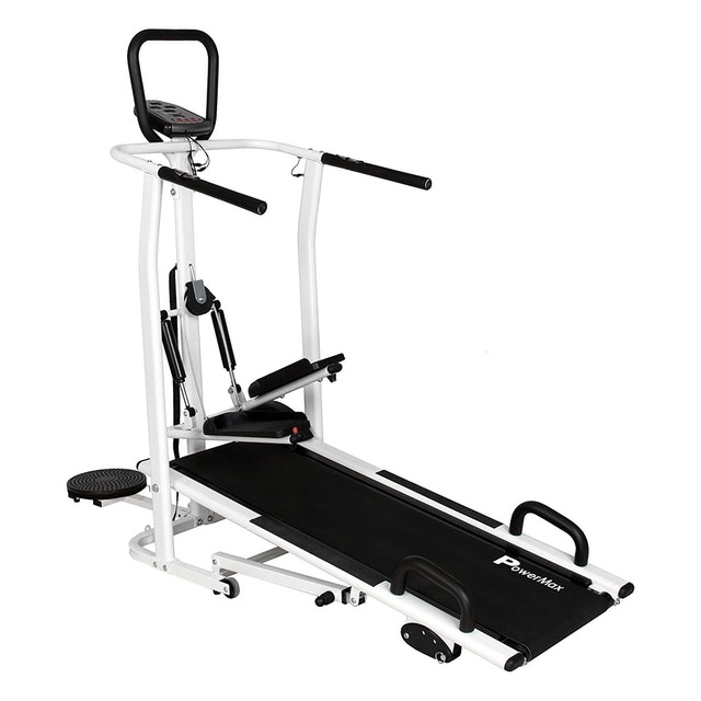 PowerMax Fitness MFT-410 Manual Treadmill 1