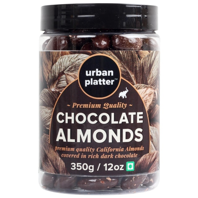 Urban Platter Dark Chocolate Coated California Almonds 1