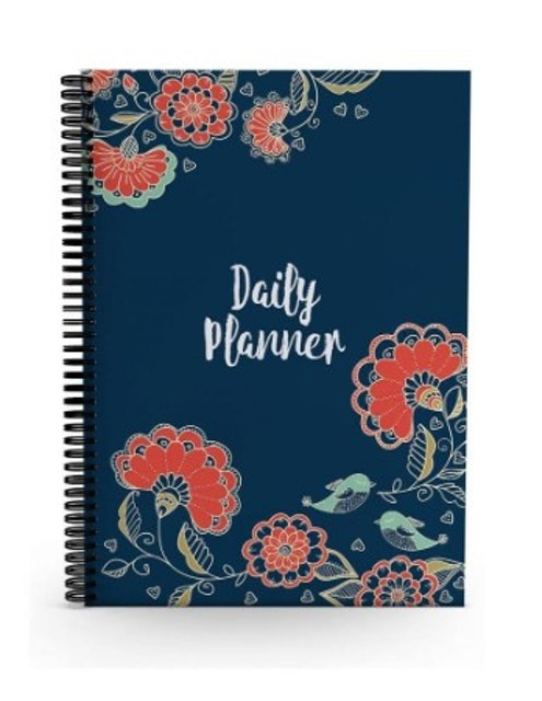 Alter Ego  Floral Minimalist Daily Planner 1