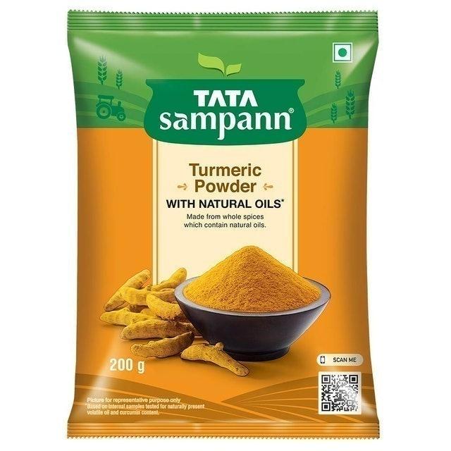 Tata Sampann Turmeric Powder With Natural Oils, 200g 1