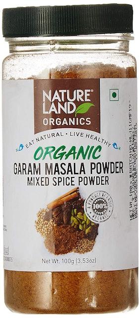 Natureland Organic Garam Masala Powder  1