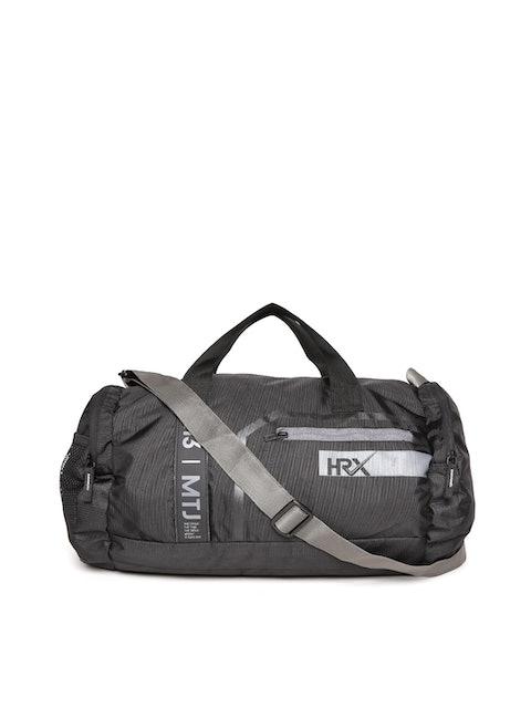 HRX by Hrithik Roshan Black Solid Training Duffel Bag 1