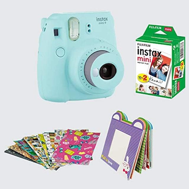 Fujifilm Instax Camera Mini 9 Bundle Pack 1