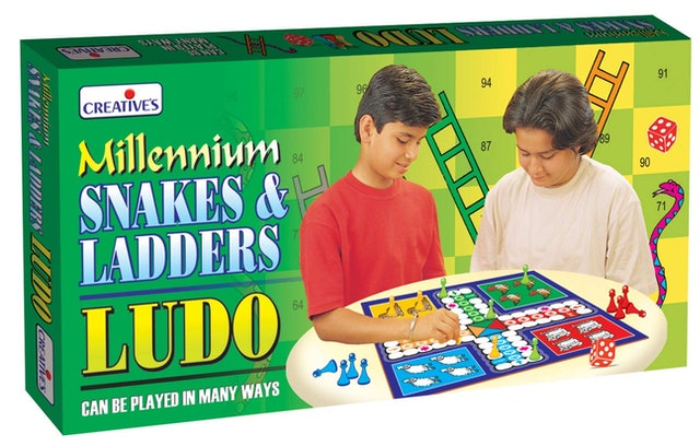 Creative's Snakes & Ladders Ludo 1