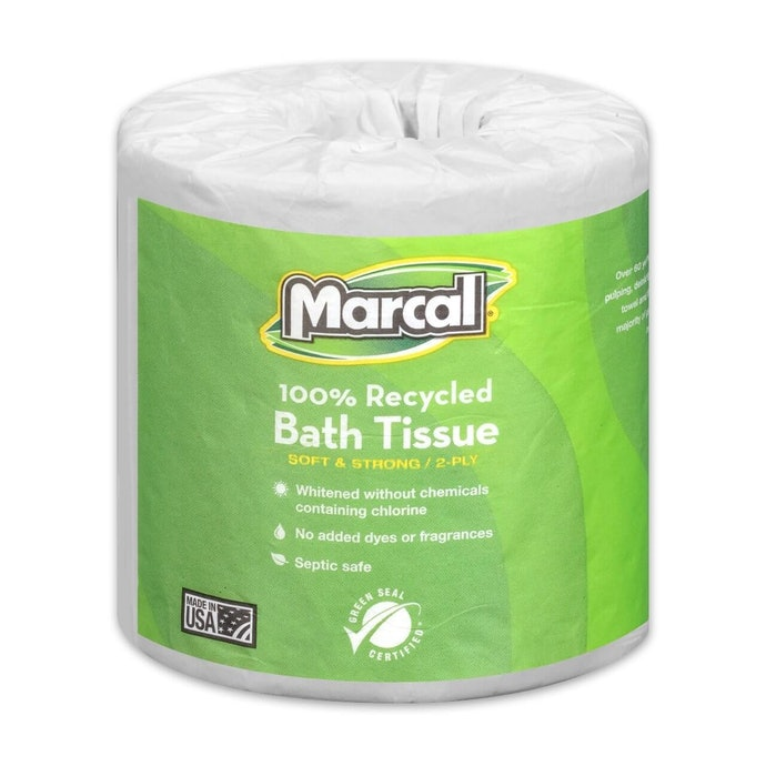 Cheap Toilet Paper Made from Recycled Materials to Protect the Environment