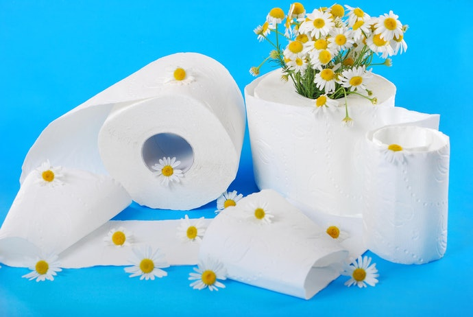Clean and Fresh with Scented Toilet Paper