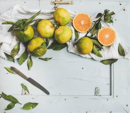 Energising, Refreshing Scents Like Citrus for Mornings and for Summer Days