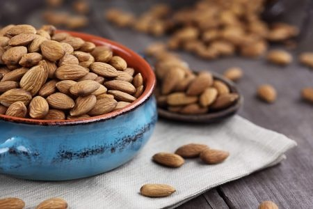 Warm Scents Such as Almonds for Relaxing Before Sleeping or for Wintertime