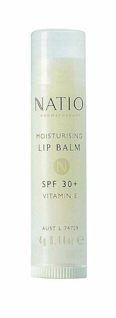 10. Natio Aromatherapy Moisturizing Lip Balm 1