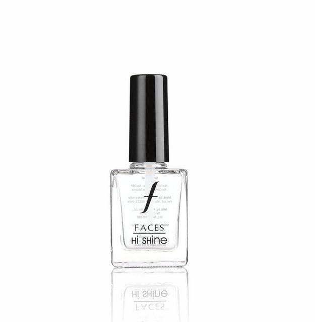 10. Faces Hi Shine Nail Enamel Top Coat 1