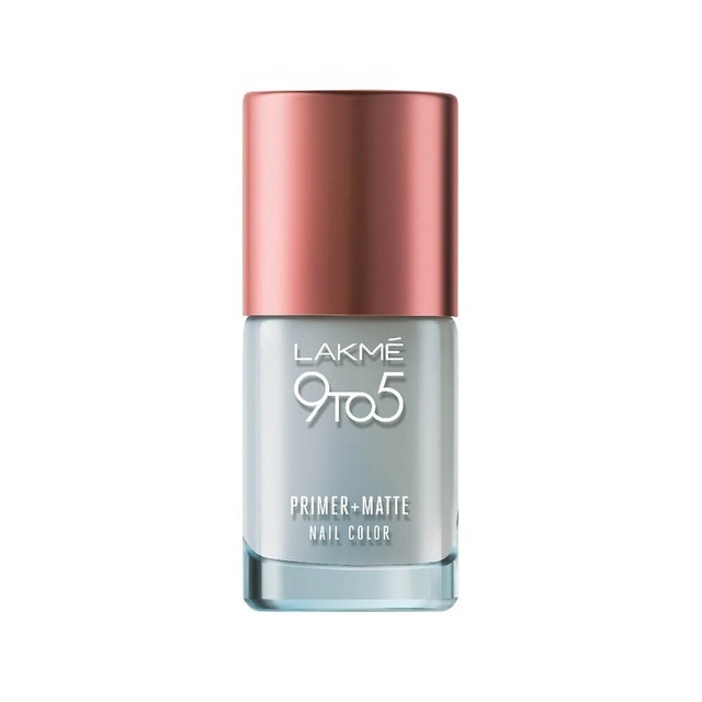 9. Lakme 9 to 5 Primer and Matte Nail Topcoat 1