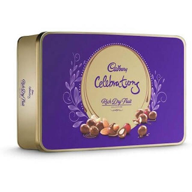 10. Cadbury Celebrations Rich Dry Fruit Chocolate Gift Box 1