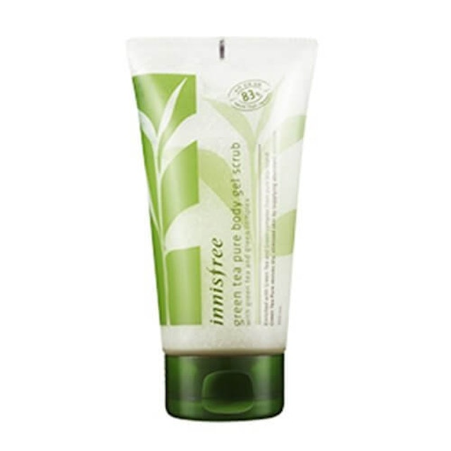 7. Innisfree Green Tea Pure Body Gel Scrub 1