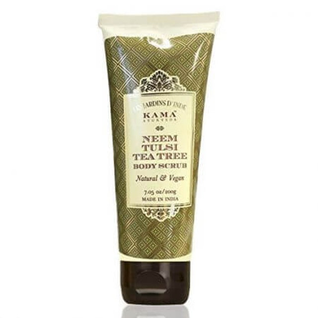 6. Kama Ayurveda Neem Tulsi Tea Tree Body Scrub 1